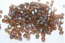 Perline Mezzi Cristalli 6mm, 30pz, Smoky Topaz AB Col.X10230