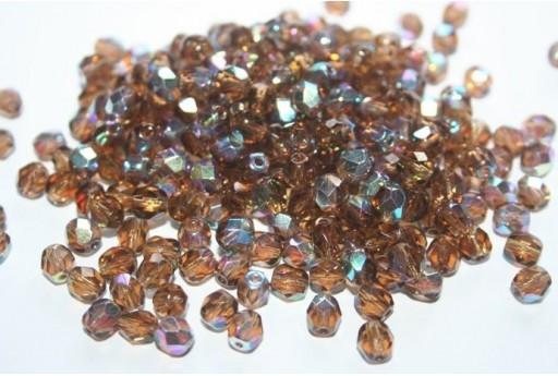 30 Mezzi Cristalli 6mm Crystal Col. 00030