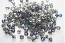 Perline Mezzi Cristalli Blue Star 6mm - 30pz