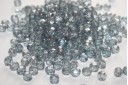 Perline Mezzi Cristalli 6mm, 30pz, Luster-Transparent Blue Col.LB00030