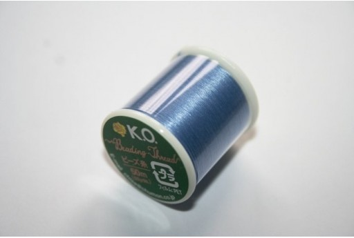 KO Nylon Thread 0,25mm Light Blue 50m Col.11BL