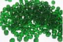 Perline Mezzi Cristalli 6mm, 30pz, Green Col.50060