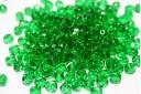 Perline Mezzi Cristalli 6mm, 30pz, Emerald Col.50130