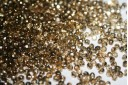 60 Perline Mezzi Cristalli 3mm Crystal Col.00030