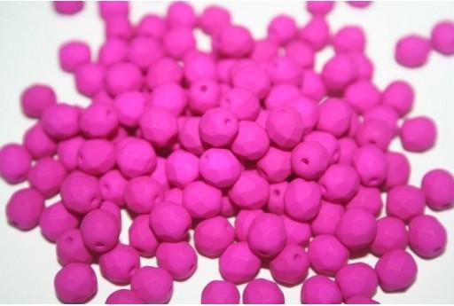 Perline Mezzi Cristalli 6mm, 30pz, Neon-Dark Purple Col.25125AL