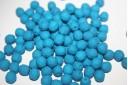 Perline Mezzi Cristalli 6mm, 30pz, Neon-Blue Col.25127AL