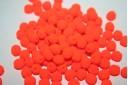 Perline Mezzi Cristalli 6mm, 30pz, Neon-Orange Col.25122AL