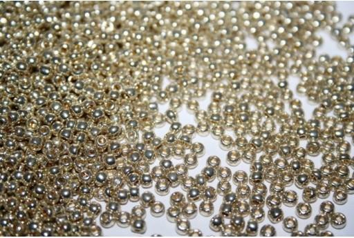 Perline Toho Round Rocailles 8/0, 10gr., Galvanized Aluminum Col.PF558