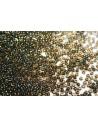 Toho Seed Beads 8/0, 10gr., Inside-Color Rainbow Lt Topaz/Jet Col.244