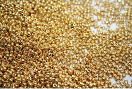 Perline Toho Round Rocailles 11/0, 10gr. Galvanized Starlight Col.PF557
