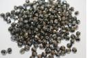 Perline Mezzi Cristalli Hematite 4mm - 60pz