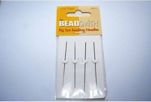 Big Eye Beading Needles 10x54mm - 4pcs