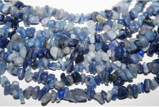 Filo Circa 220 Pietre Aventurine Blue Chips 5x8mm AV15
