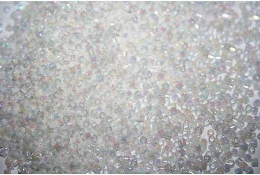 Perline Delica Miyuki White Pearl AB 10/0 - 8g