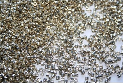 Perline Delica Miyuki Duracoat Galvanized Silver 10/0 - 8g