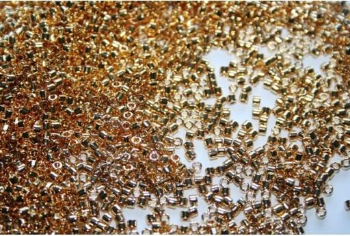 Perline Delica Miyuki Gold 24K Plated 10/0 - 5g