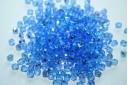 Perline Mezzi Cristalli Sapphire AB 4mm - 60pz