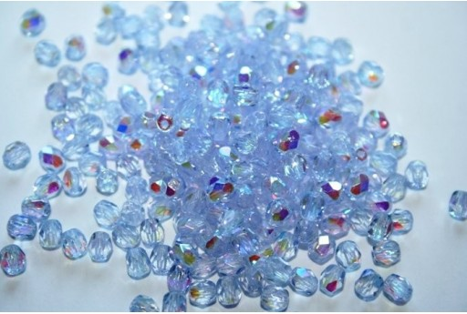 Perline Mezzi Cristalli Med Alexandrite AB