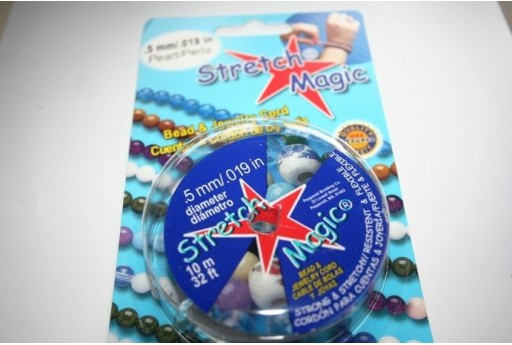 Filo Elastico Stretch Magic 0,5mm, 10mt. MIN18A