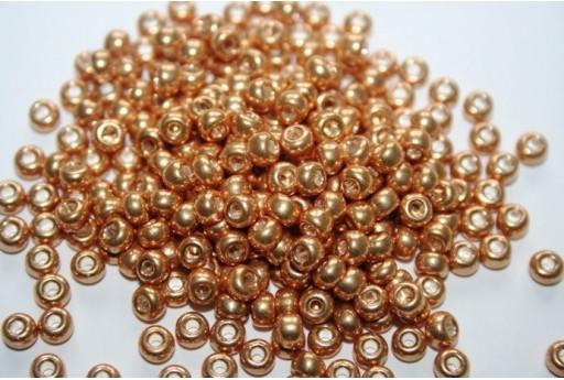 Perline Miyuki Round Rocailles Galvanized Gold 6/0 - 10gr
