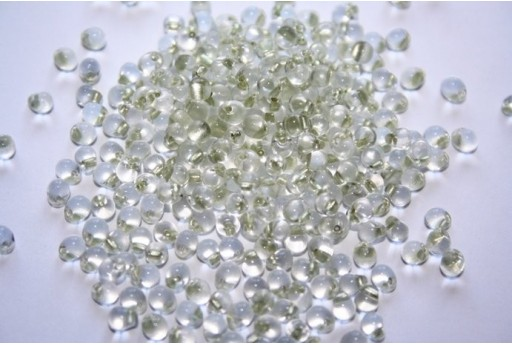 Miyuki Drops Beads Celery Lined Crystal 3,4mm - 10gr