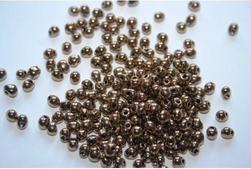 Perline Miyuki Drops Metallic Bronze 3,4mm - 10gr