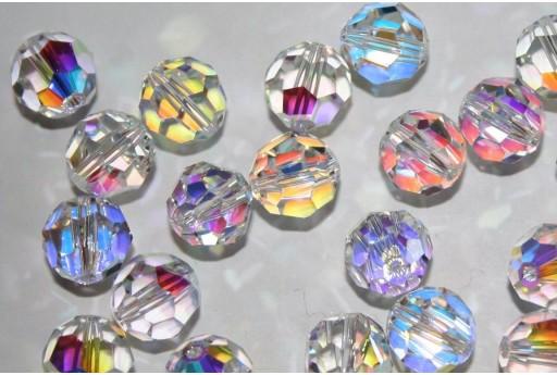 Round Swarovski Crystal AB 10mm - 2pz
