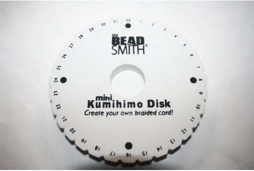 Kumihimo Mini Disco Tondo 11cm.MIN106A