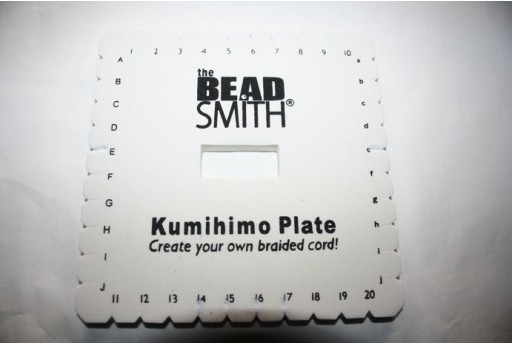 Kumihimo Disco Quadrato 14cm. MIN106C