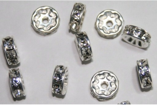 Swarovski Spacer Rondelle 8mm - 2pcs