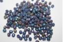 Perline Mezzi Cristalli Matte Iris Blue 4mm - 60pz