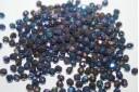 Perline Mezzi Cristalli Iris Blue 4mm - 60pz