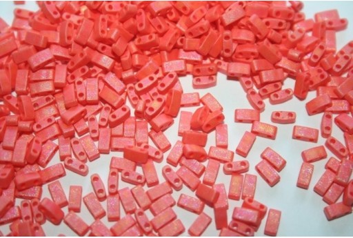 Miyuki Half Tila Beads 1/2 Cut Matte Opaque Orange 2,5x5mm - 5gr