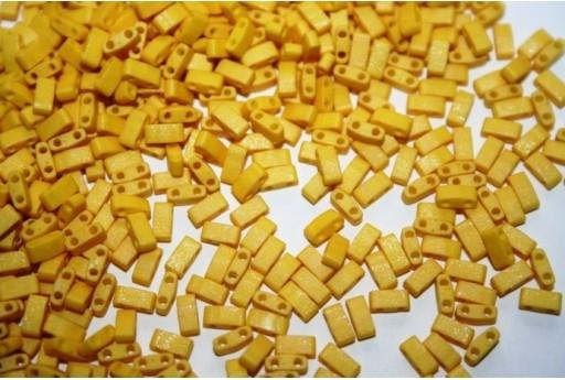 Perline Miyuki Half Tila 1/2 Cut Dandalion 2,5x5mm - 5gr