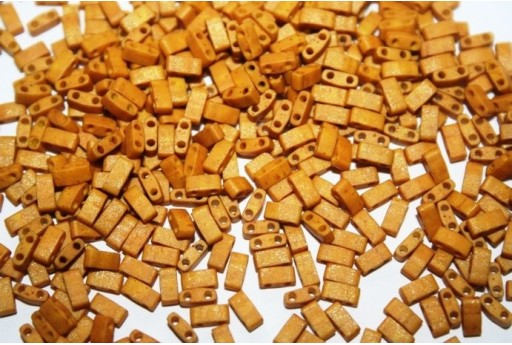 Perline Miyuki Half Tila 1/2 Cut Mustard 2,5x5mm - 5gr
