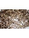 Perline Miyuki Half Tila 1/2 Cut Matte Metallic Gold 2,5x5mm - 5gr
