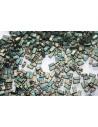 Miyuki Half Tila Beads 1/2 Cut Matte Metallic Green Iris 2,5x5mm - 5gr