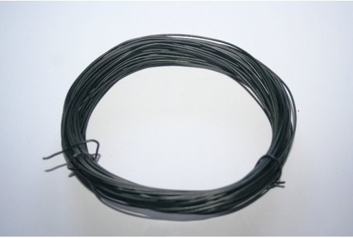 Aluminium Wire 0,8mm Black - 12m