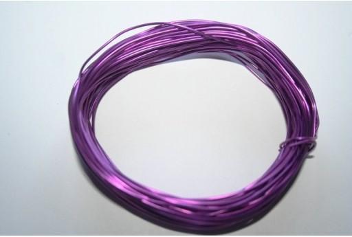 Filo Alluminio Viola 0,8mm - 12mt