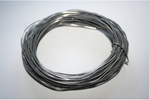Aluminium Wire 0,8mm Grey - 12m