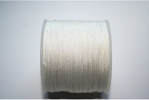 Filo Nylon Intrecciato Bianco 1mm - 35mt