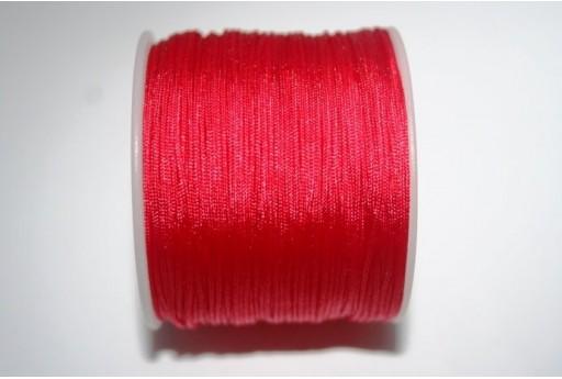 Filo Nylon Intrecciato Rosso 1mm - 35mt