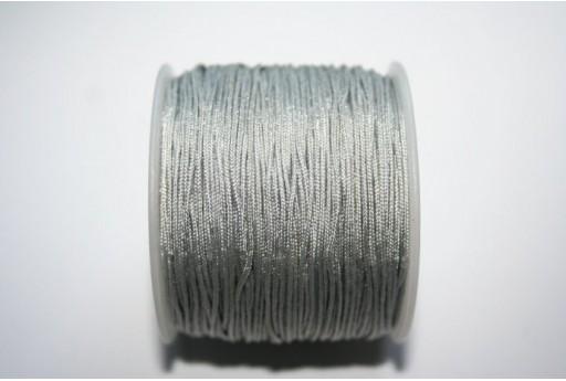 Filo Nylon Intrecciato Grigio 1mm - 35mt