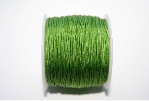 Green Nylon Thread 1mm - 35m