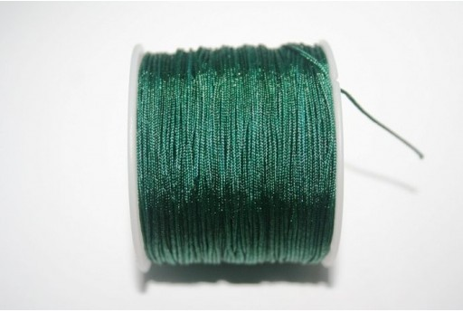 Dark Green Nylon Thread 1mm - 35m