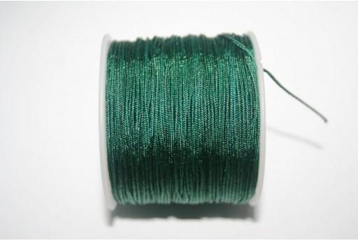 Filo Nylon Intrecciato Verde 1mm - 35mt