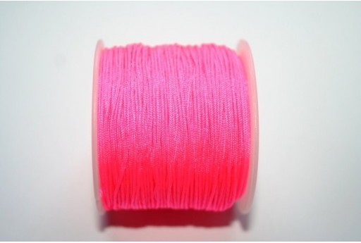 Neon Pink Nylon Thread 1mm - 35m