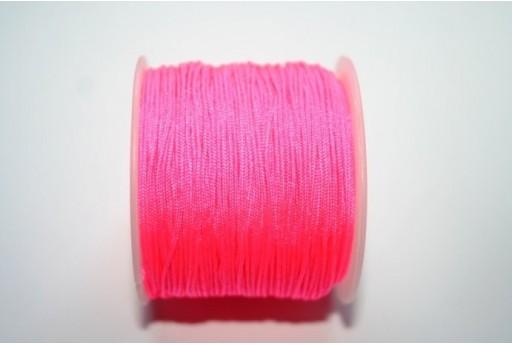 Filo Nylon Intrecciato Rosa Confetto 1mm - 35mt