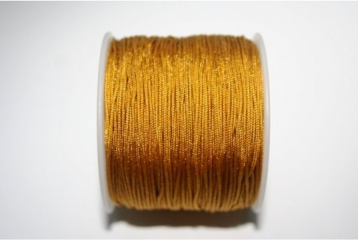 Gold Nylon Thread 1mm - 35m