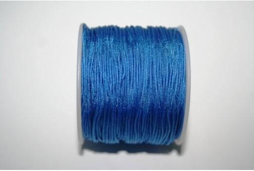 Filo Nylon Intrecciato Azzurro 1mm - 35mt